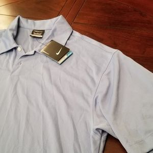 Nike Golf polo, Light blue. New with tags. XL